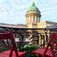 Гостиница Kazanskaya Art Apart в Санкт-Петербурге отзывы, цены и фото номеров - забронировать гостиницу Kazanskaya Art Apart онлайн Санкт-Петербург балкон