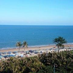 Отель Green Hotel Вьетнам, Вунгтау - отзывы, цены и фото номеров - забронировать отель Green Hotel онлайн пляж фото 2