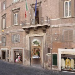 Отель Pantheon Inn Италия, Рим - 1 отзыв об отеле, цены и фото номеров - забронировать отель Pantheon Inn онлайн вид на фасад фото 2