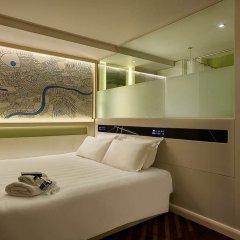 Отель hub by Premier Inn London Covent Garden комната для гостей