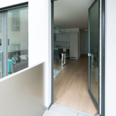 Апартаменты Vienna Residence Spacious Apartment for up to 4 Guests Directly at the U4 Вена балкон