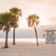 Отель Comfort Suites Sarasota - Siesta Key пляж