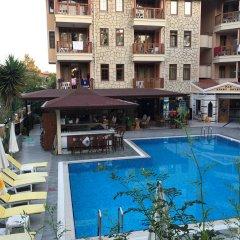 Nar Apart Hotel Турция, Сиде - отзывы, цены и фото номеров - забронировать отель Nar Apart Hotel онлайн бассейн