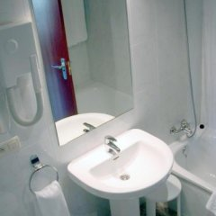 Отель Bahía Bayona Испания, Байона - отзывы, цены и фото номеров - забронировать отель Bahía Bayona онлайн ванная фото 2