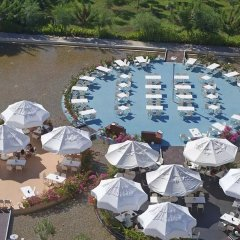 Kervansaray Kundu Beach Hotel Турция, Кунду - 5 отзывов об отеле, цены и фото номеров - забронировать отель Kervansaray Kundu Beach Hotel онлайн пляж фото 2