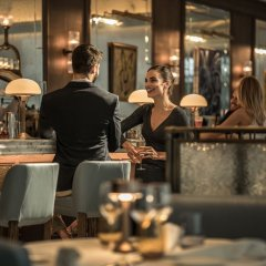 Four Seasons Hotel Dubai International Financial Centre гостиничный бар