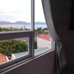 Отель Vanda Hotel Nha Trang Вьетнам, Нячанг - отзывы, цены и фото номеров - забронировать отель Vanda Hotel Nha Trang онлайн балкон