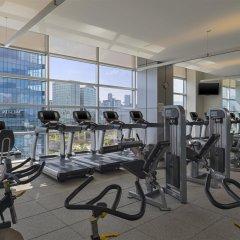 Отель Westin Santa Fe Мехико фитнесс-зал фото 2