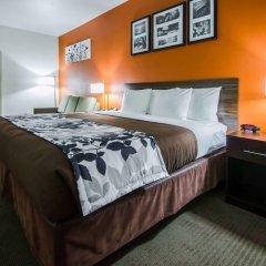 Отель Sleep Inn & Suites And Conference Center комната для гостей фото 2