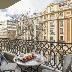Отель Bless Hotel Madrid, a member of The Leading Hotels of the World Испания, Мадрид - отзывы, цены и фото номеров - забронировать отель Bless Hotel Madrid, a member of The Leading Hotels of the World онлайн балкон