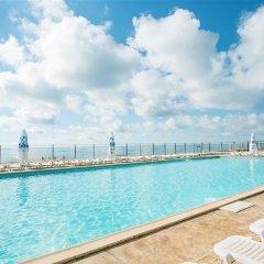 Отель Algara Beach Hotel - All Inclusive Болгария, Кранево - отзывы, цены и фото номеров - забронировать отель Algara Beach Hotel - All Inclusive онлайн бассейн фото 3