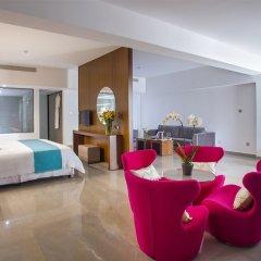 King Evelthon Beach Hotel & Resort комната для гостей фото 10