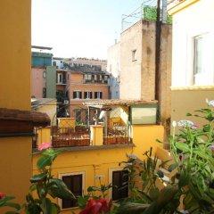 Отель iRooms Campo dei Fiori Италия, Рим - 1 отзыв об отеле, цены и фото номеров - забронировать отель iRooms Campo dei Fiori онлайн балкон