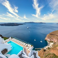 Отель Athina Luxury Suites Греция, Остров Санторини - отзывы, цены и фото номеров - забронировать отель Athina Luxury Suites онлайн бассейн фото 3