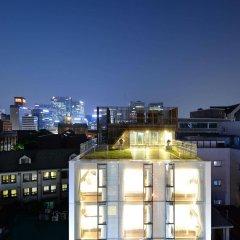 Отель Creto Hotel Myeongdong Южная Корея, Сеул - отзывы, цены и фото номеров - забронировать отель Creto Hotel Myeongdong онлайн балкон