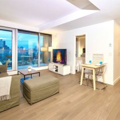 Отель Best Location Yaletown Luxury Suites Канада, Ванкувер - отзывы, цены и фото номеров - забронировать отель Best Location Yaletown Luxury Suites онлайн комната для гостей фото 5
