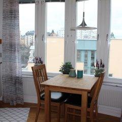 Отель Klara Strand Företagsbostäder в номере