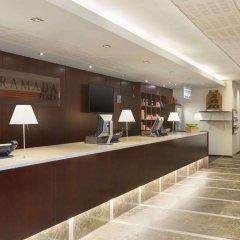 Отель Ramada Plaza Antwerp Бельгия, Антверпен - 1 отзыв об отеле, цены и фото номеров - забронировать отель Ramada Plaza Antwerp онлайн интерьер отеля