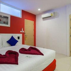 Отель The Frutta Boutique Patong Beach 3* Стандартный номер с различными типами кроватей фото 8