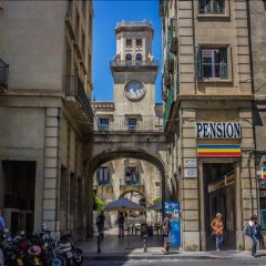 Отель Pensión Ayuntamiento Испания, Аликанте - отзывы, цены и фото номеров - забронировать отель Pensión Ayuntamiento онлайн вид на фасад