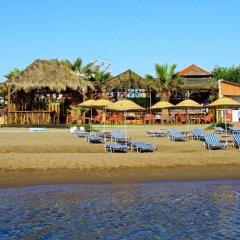 Aquarius Beach Hotel пляж фото 2