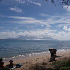 Отель Condo Ohi - Near Plage Toaroto Французская Полинезия, Пунаауиа - отзывы, цены и фото номеров - забронировать отель Condo Ohi - Near Plage Toaroto онлайн пляж