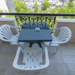 Отель Big Blue Suite Аланья балкон
