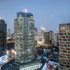 Отель Langham Xintiandi Шанхай балкон