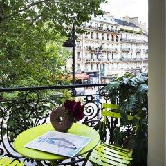 Отель Plaza Elysées Франция, Париж - отзывы, цены и фото номеров - забронировать отель Plaza Elysées онлайн балкон
