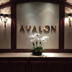 Avalon Hotel интерьер отеля