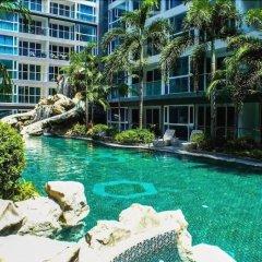 Отель Modernized Condo Seaview Central Pattaya бассейн фото 2