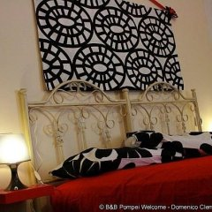 Отель B&B Pompei Welcome Италия, Помпеи - отзывы, цены и фото номеров - забронировать отель B&B Pompei Welcome онлайн комната для гостей фото 4
