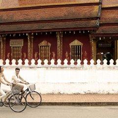 Отель Cafe de Laos Inn спортивное сооружение