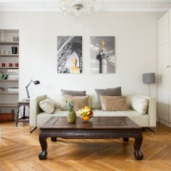 Апартаменты Marais - Francs Bourgeois Apartment комната для гостей фото 5