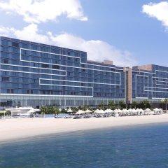 Отель Fairmont Bab Al Bahr пляж