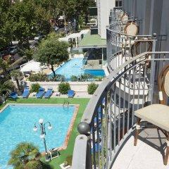 Отель Ambassador Италия, Римини - 1 отзыв об отеле, цены и фото номеров - забронировать отель Ambassador онлайн балкон