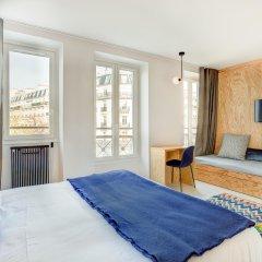 Отель MONTHOLON Париж комната для гостей фото 4
