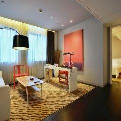 Metropolo Classiq Shanghai Jing'an Temple Hotel комната для гостей