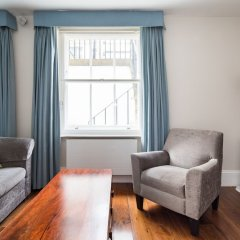Апартаменты Tavistock Place Apartments Лондон комната для гостей фото 5