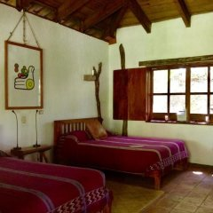 Hotel Hacienda San Lucas Копан-Руинас сейф в номере