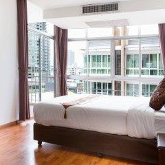 Отель Waterford Diamond Tower Бангкок комната для гостей