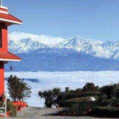 Отель Dhulikhel Lodge Resort Непал, Дхуликхел - отзывы, цены и фото номеров - забронировать отель Dhulikhel Lodge Resort онлайн приотельная территория