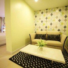 Апартаменты Trebel Service Apartment Pattaya Паттайя комната для гостей фото 3
