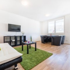 Апартаменты Duschel Apartments Вена комната для гостей фото 5