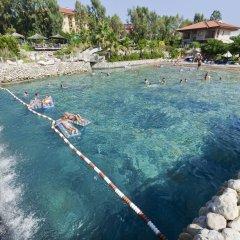 Club Grand Aqua Турция, Сиде - отзывы, цены и фото номеров - забронировать отель Club Grand Aqua - All Inclusive онлайн пляж фото 2