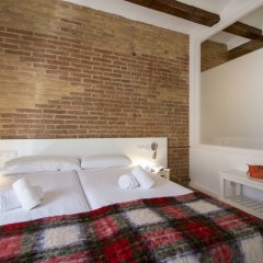 Апартаменты Happy People Ramblas Harbour Apartments Барселона комната для гостей фото 4