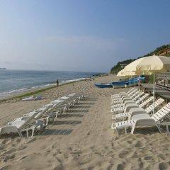 Albizia Beach Hotel пляж фото 2