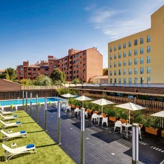 Hotel Sercotel Alcalá 611 бассейн
