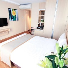 Отель Petals Inn Бангкок комната для гостей фото 2