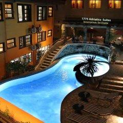 Отель 1775 Adriatico Suites Филиппины, Манила - отзывы, цены и фото номеров - забронировать отель 1775 Adriatico Suites онлайн балкон